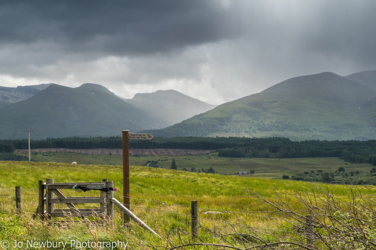 Jo Newbury Photography landscape Scottish highlands