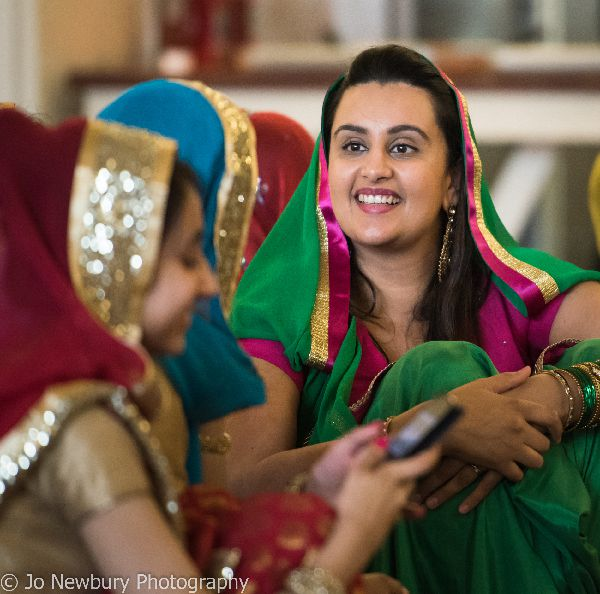 Jo Newbury Photography wedding image Sikh pre-wedding celebration